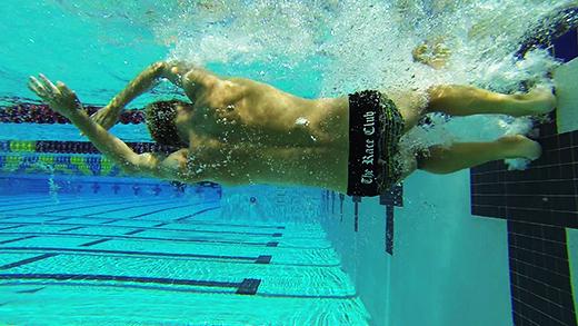 flip turn in freestyle